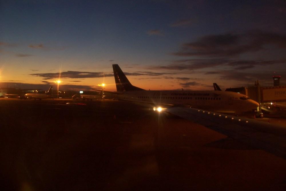 First Flight from Jakarta to Manado