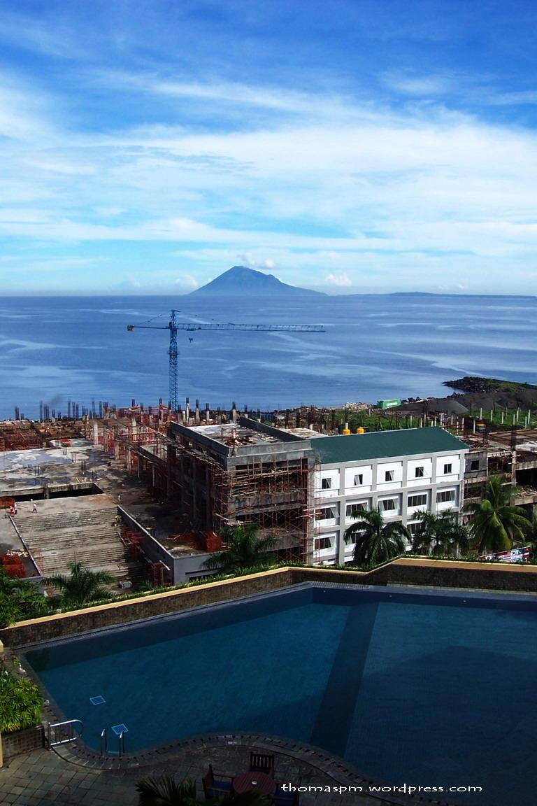 Manado Tua From Ritzy Hotel Manado