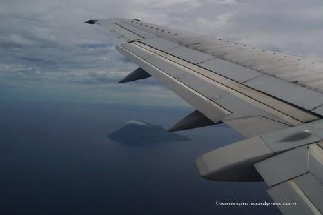 Manado Tua from The Sky