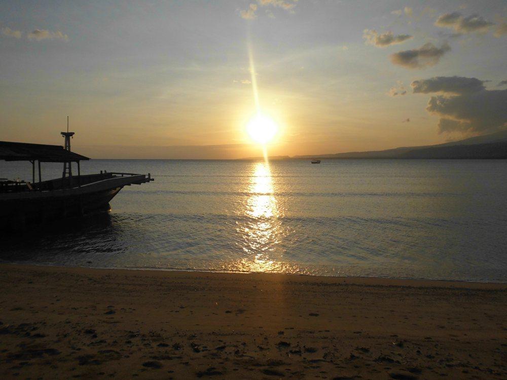 Sunrise at Larantuka