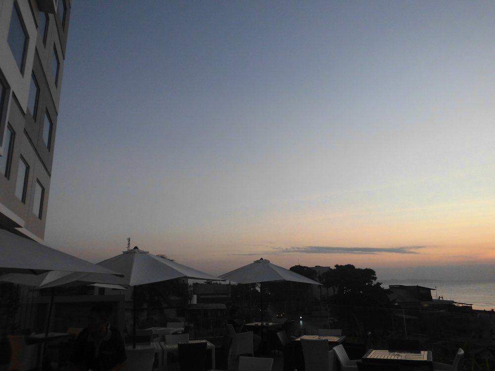 Sunset at Aston Kupang