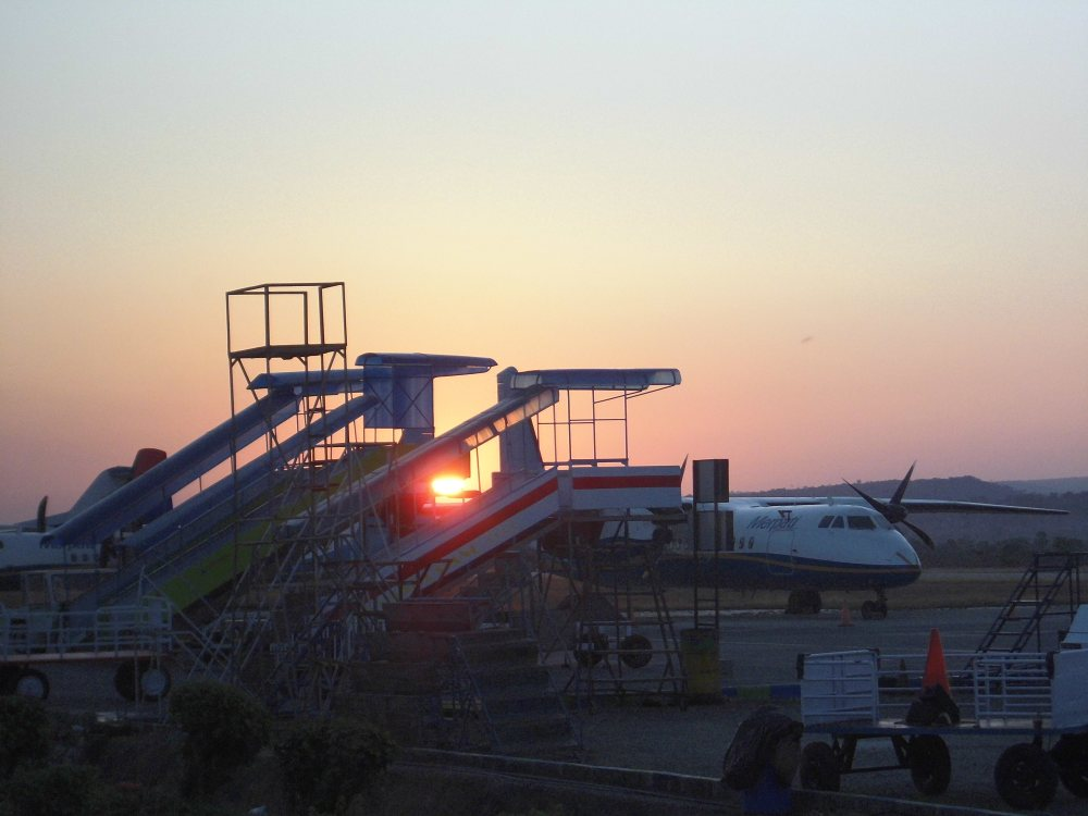Morning Flight from Kupang to Larantuka